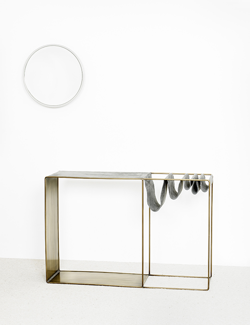 Console sen miroir syo delcourt september edit for Miroir et console