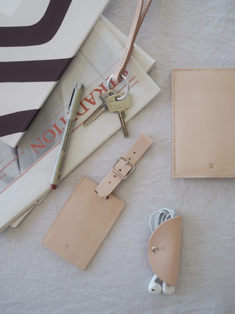 Classic and neutral travel essentials