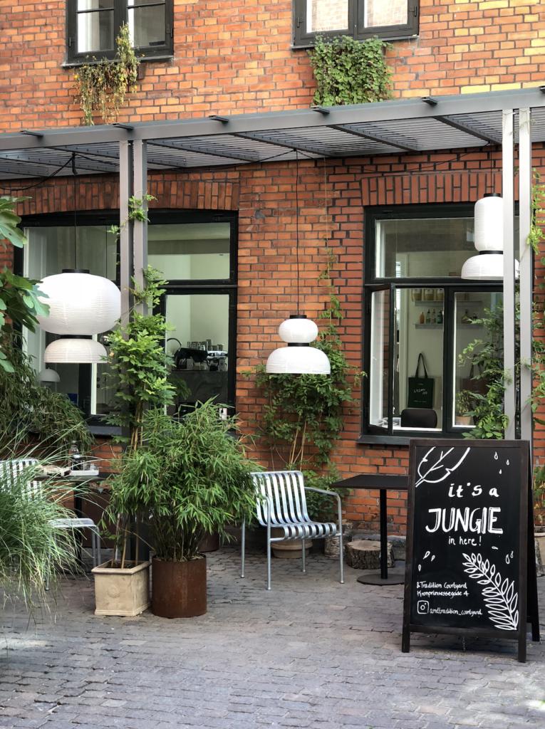 A hidden gem in Copenhagen and tradition courtyard