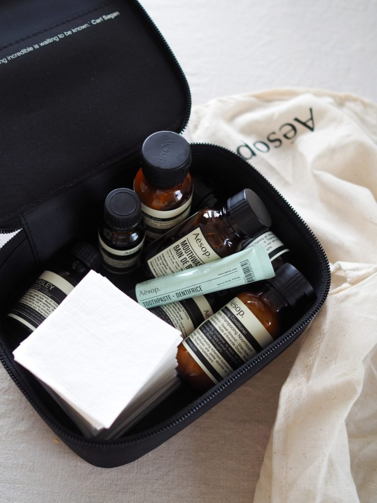 The perfect travel skincare kit aesop