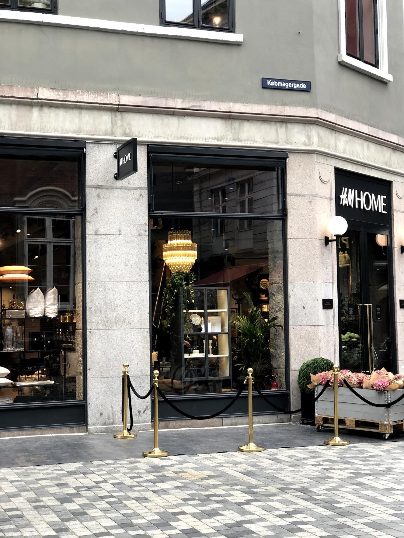 The New Hm Home Concept Store In Copenhagen September Edit