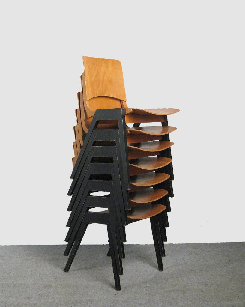 Roland Rainer Chairs