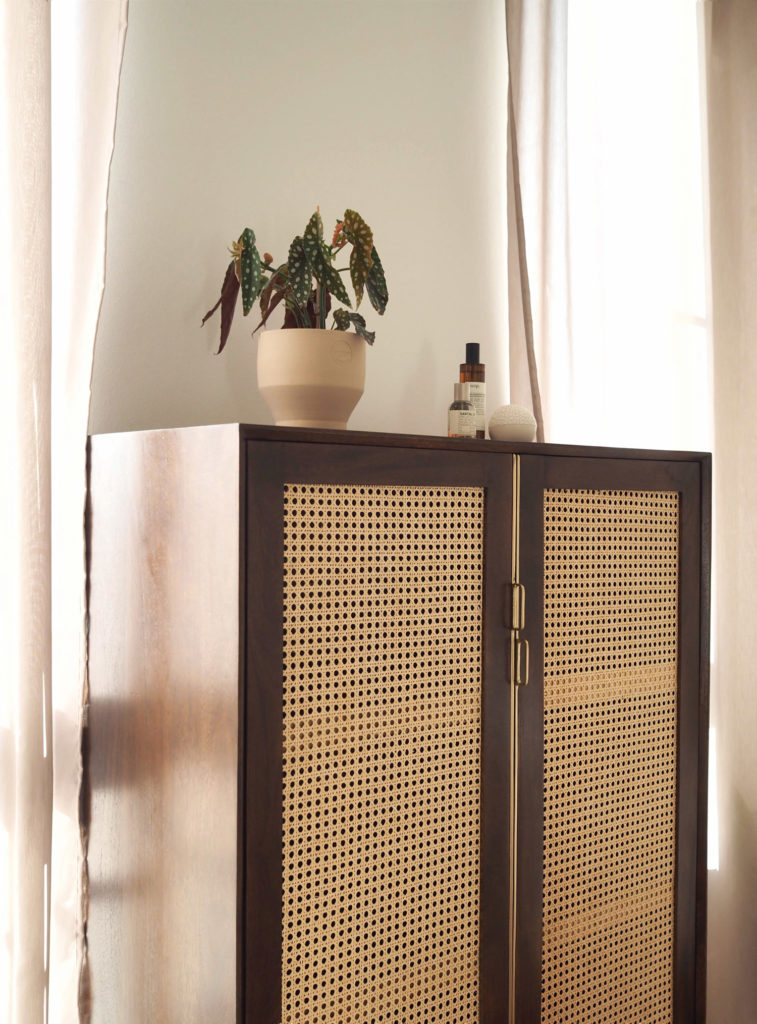 Louisiana - the rattan cabinet