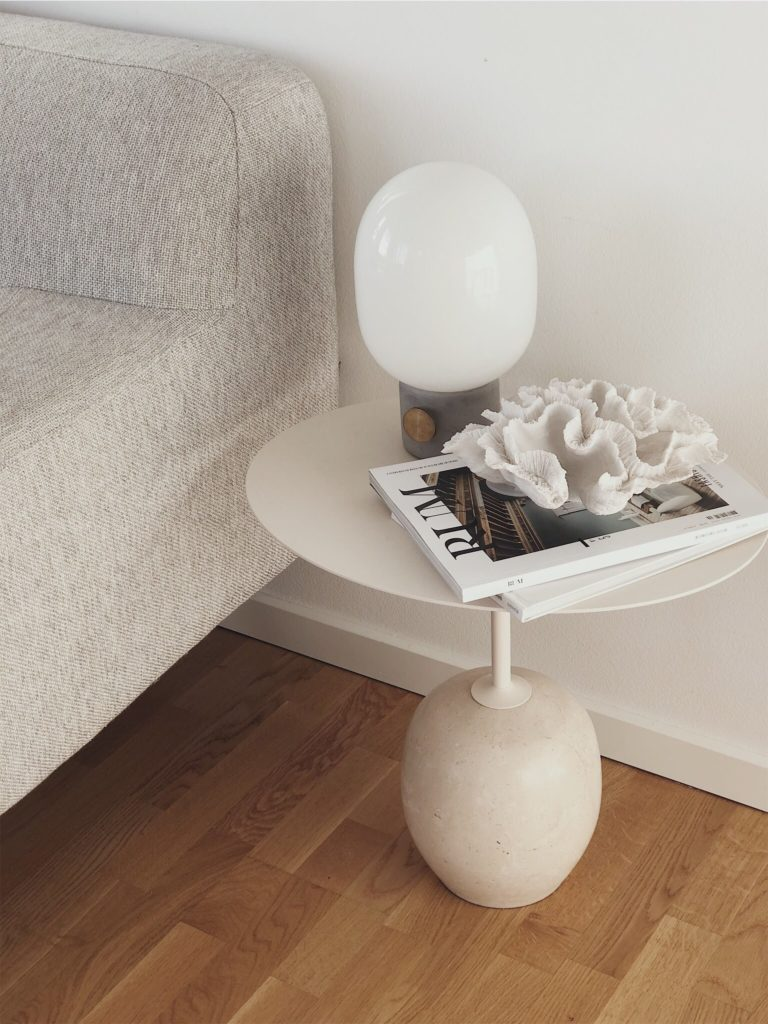 side table from &tradition