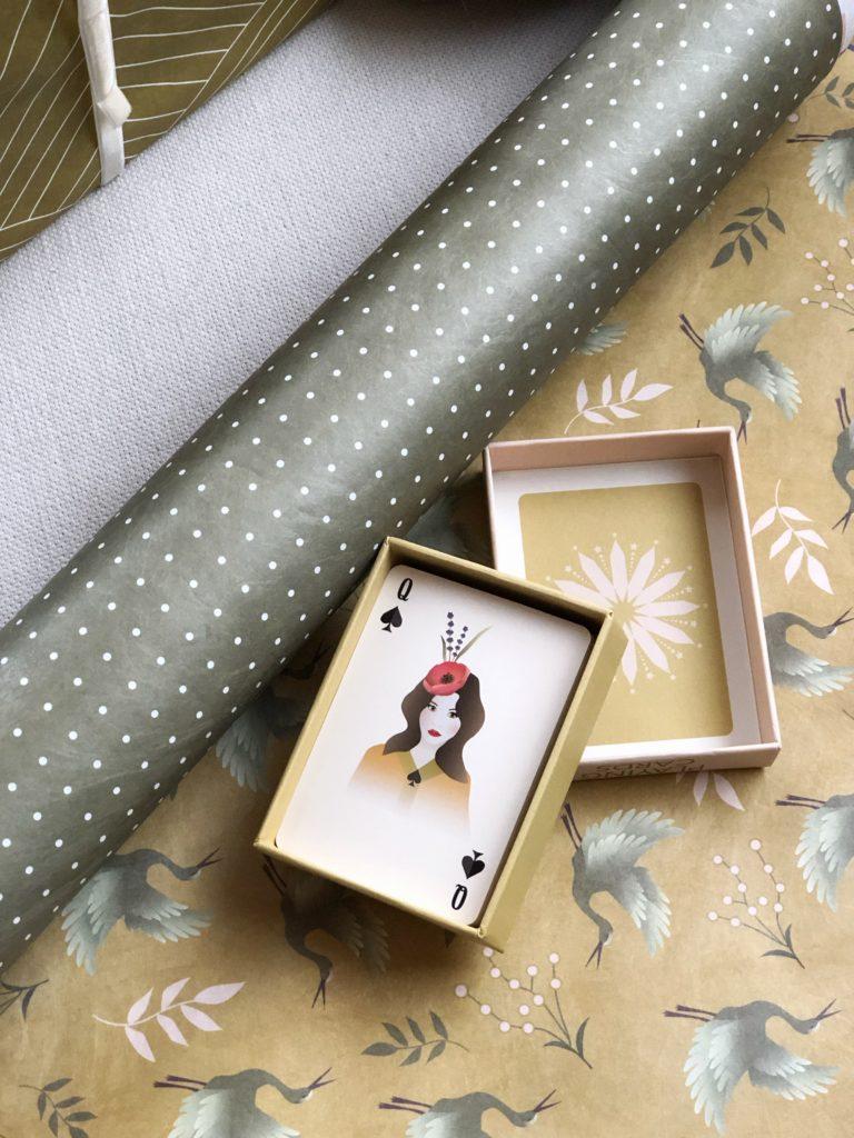Environmentally friendly gift wrap