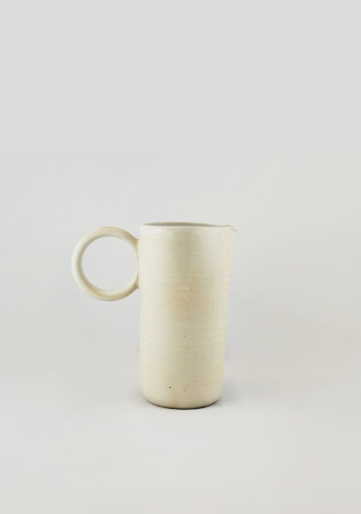 This week I added this ceramic pitcher by Laetitia Di Gioia to my wish list. The odd proportions really makes it an interesting piec