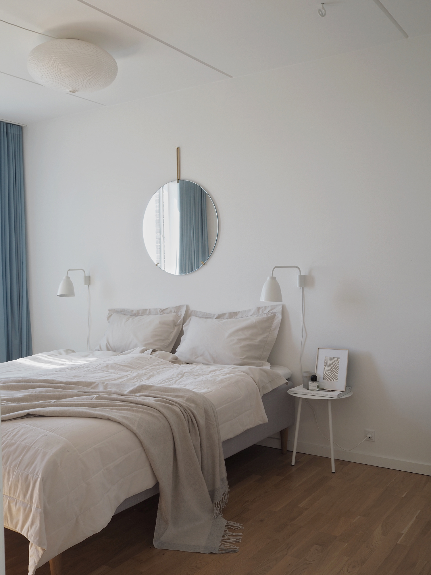 A modern classic bedroom with H\u0026M Home