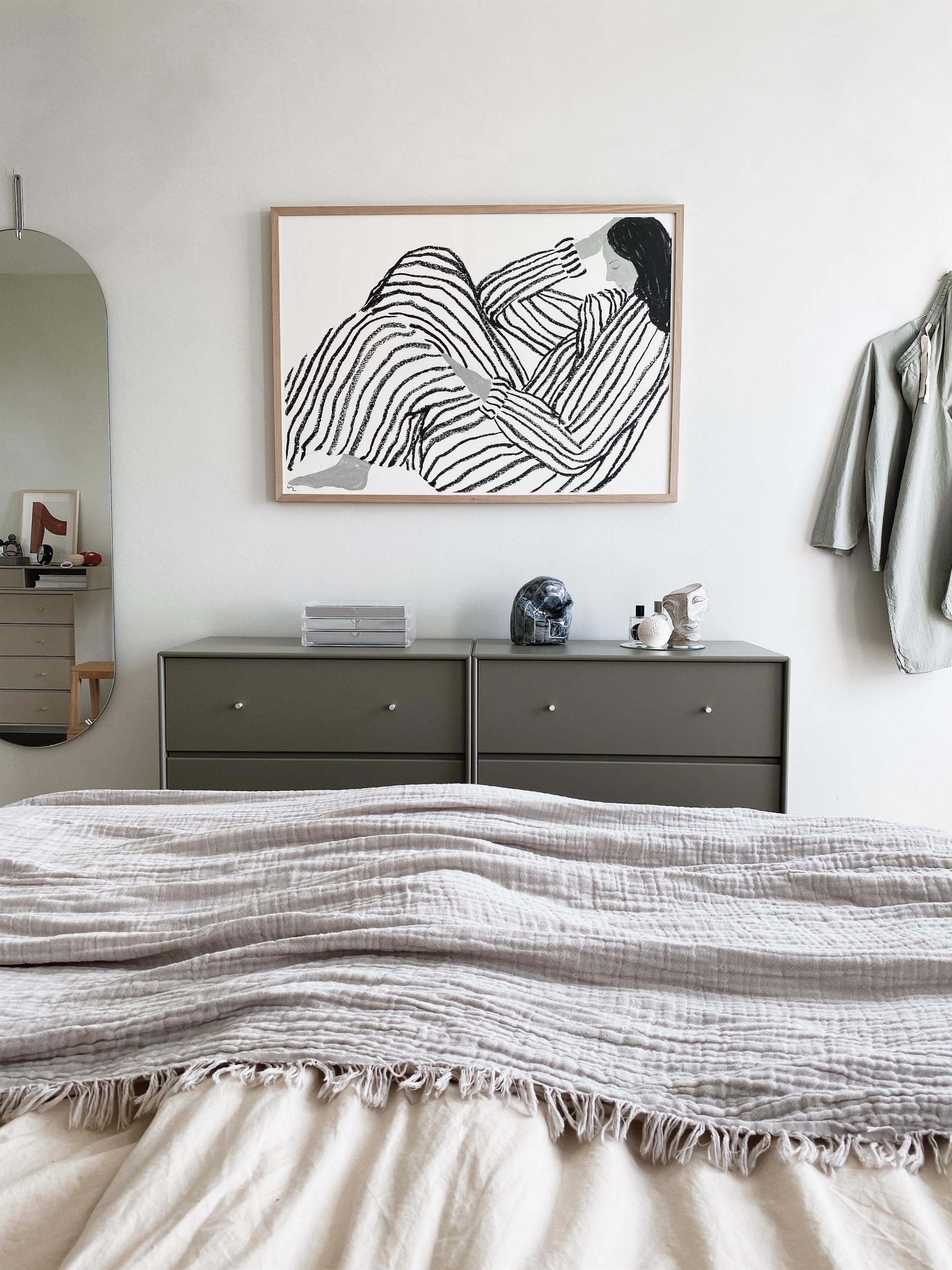 Nyt til væggen i mit soveværelse